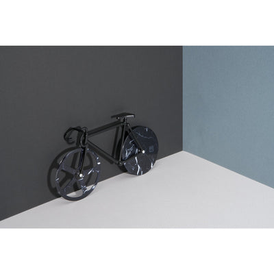DOIY The Fixie Pizza Cutter Black Marble
