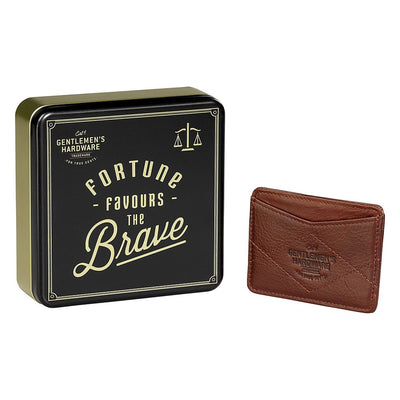 Gentlemen's Hardware Leather Card Wallet