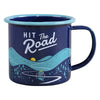 Gentlemen's Hardware Enamel Mug - Hit The Road