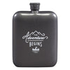 Gentlemen's Hardware The Adventure Begins Hip Flask