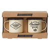 Gentlemen's Hardware Double Espresso Enamel Mug Set