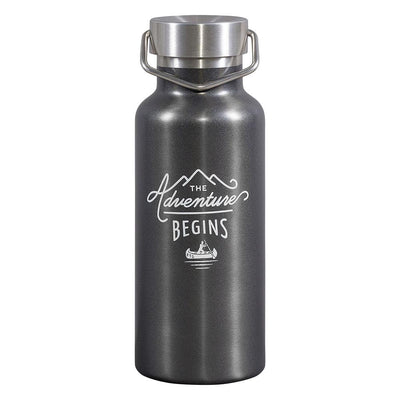 Gentlemen's Hardware The Adventure Begins Water Bottle