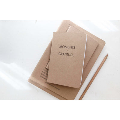 A6 Letterpress Notebook, Gratitude