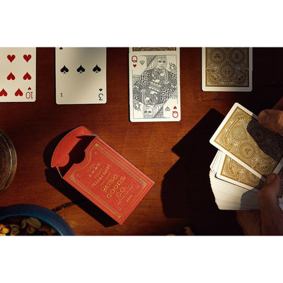 Misc. Goods Co. Playing Cards Red