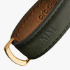 Orbitkey Crazy Horse Leather Key Organiser, Forest Green