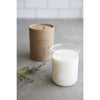 330g CLEAR BEAKER CANDLE - SEAGRASS & VETIVER