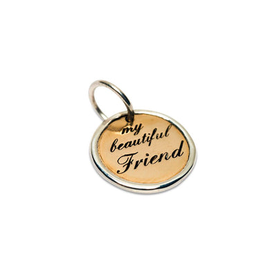 Palas Bronze Beautiful Friend Charm