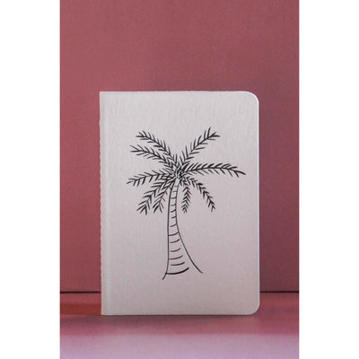 A6 Letterpress Notebook, Palm