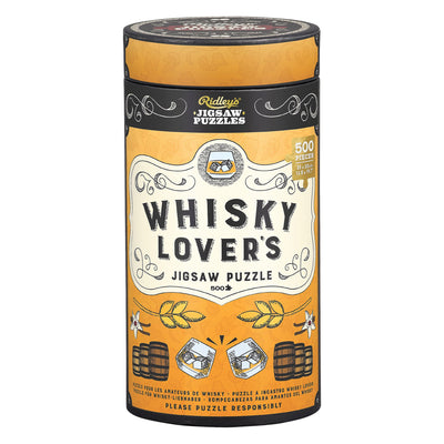 Ridley's Whisky Lovers 500pc Jigsaw Puzzle