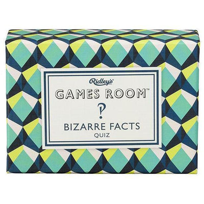 Ridley's Games Room Bizarre Facts Quiz