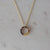 Tort Necklace 14kt Gold Plated