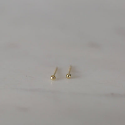 Blink Studs 14kt Gold Plated