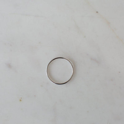 Little Smooth Ring Silver