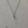 Diamond Necklace Sterling Silver