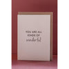 Clare Bernadette WONDERFUL Gift Card