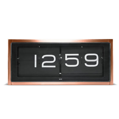 LEFF Brick Copper 24hr Flip Clock