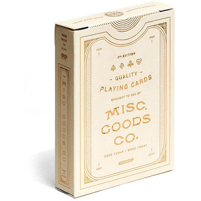 Misc Goods Co. Playing Cards Ivory