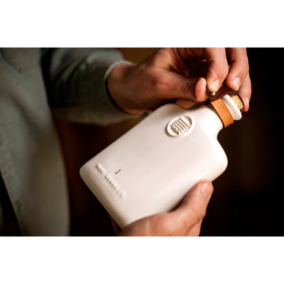 Misc Goods Co. Ivory Ceramic Flask
