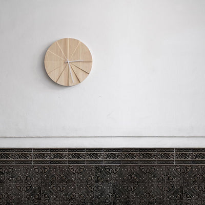 LEFF Scope Wall Clock - Natural