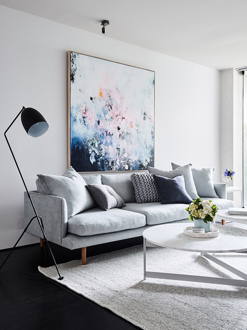 Bec Judd House Flowers Living Room