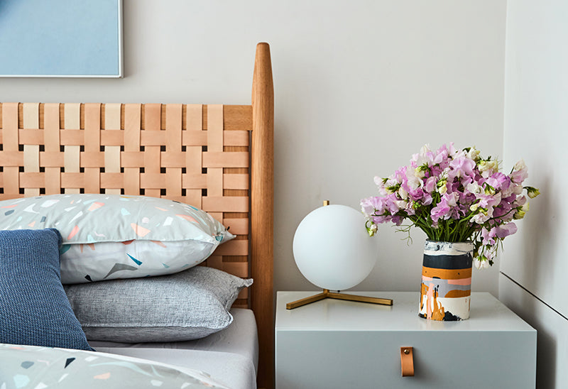 Bec Judd House Flowers Bedroom
