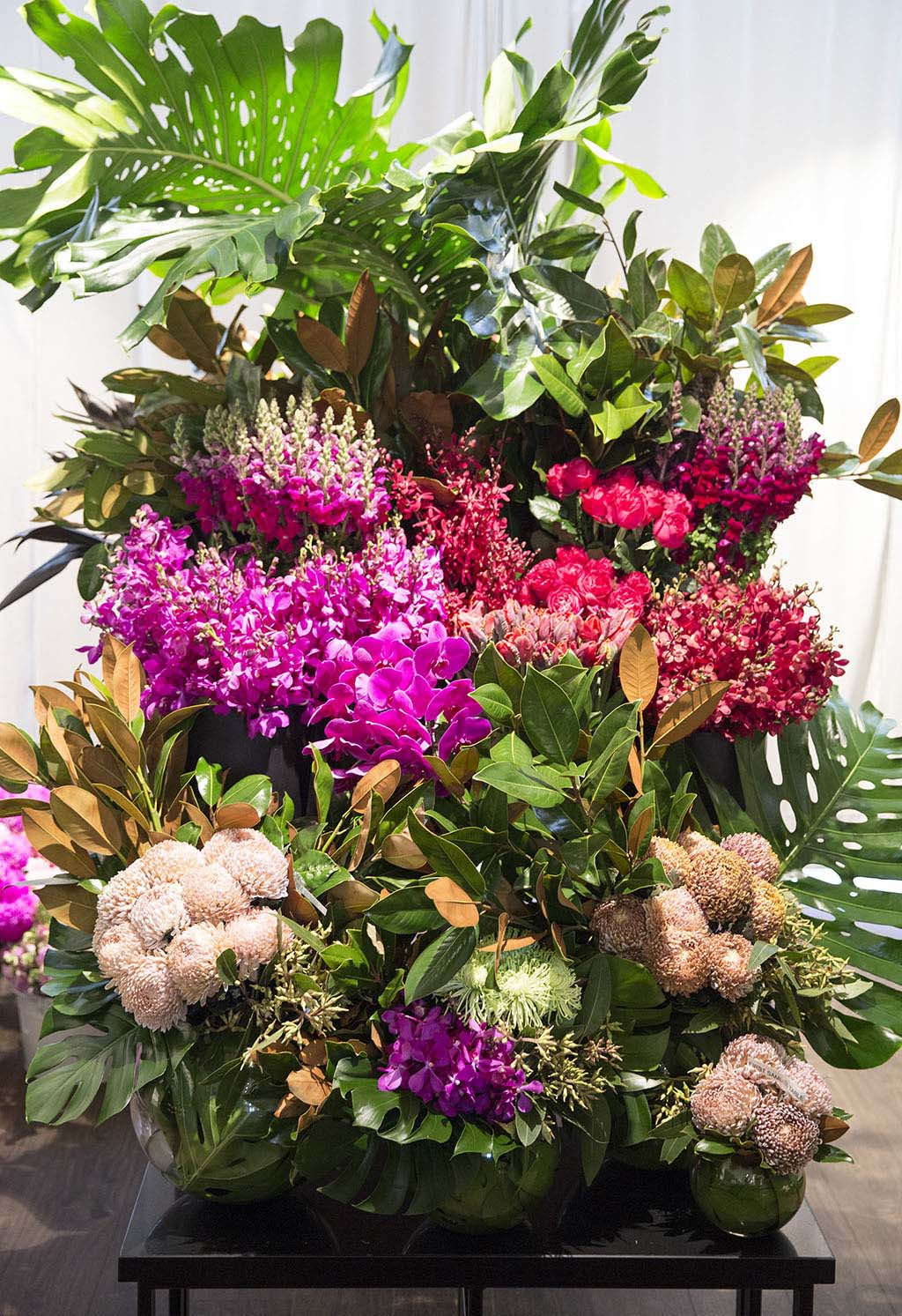 Floral display at a leading Melbourne florist