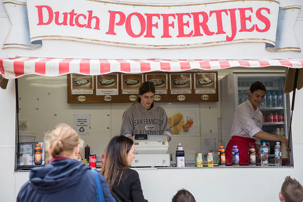 Food Stall at Tesselaar Tulip Festival