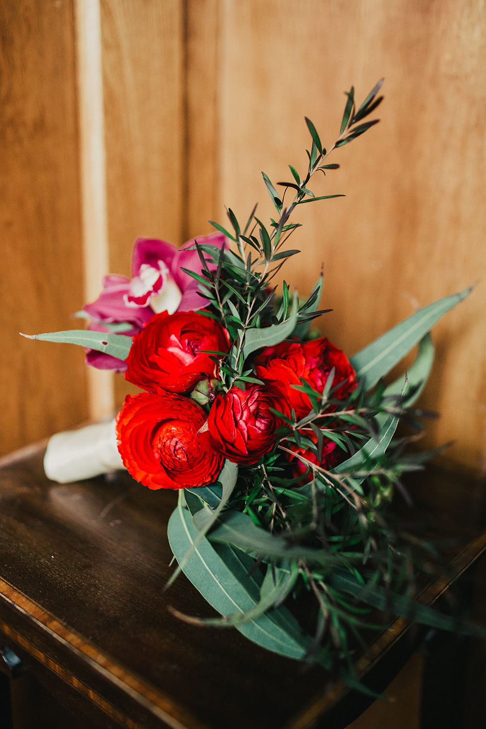 Wedding Flowers Bouquet Red
