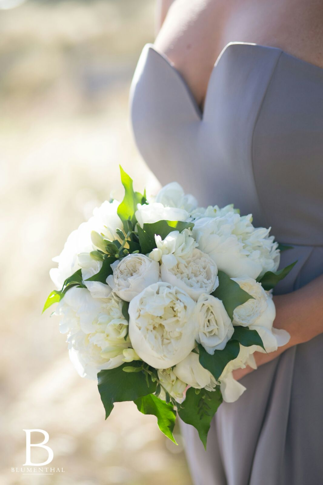 Bridal Wedding Flowers Bouquet White and Green