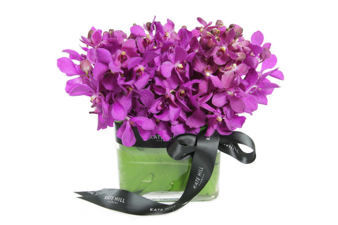 Orchid Rectangle Vase Design