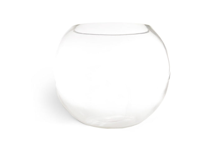 Large Glass Sphere Vase