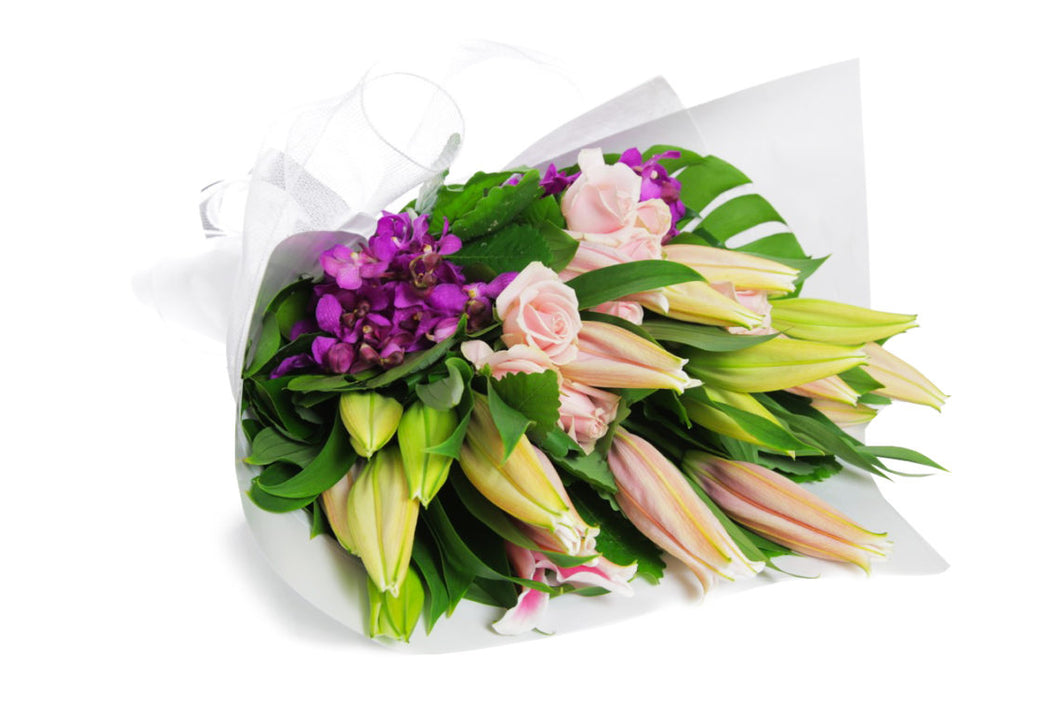 Pink Lily Mix Bouquet