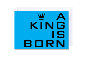 'A King is Born' Kate Hill Greeting Card