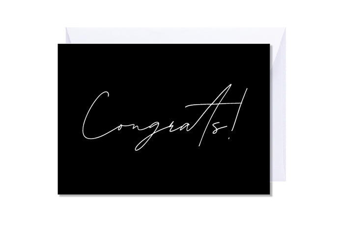 'Congrats' Kate Hill Greeting Card