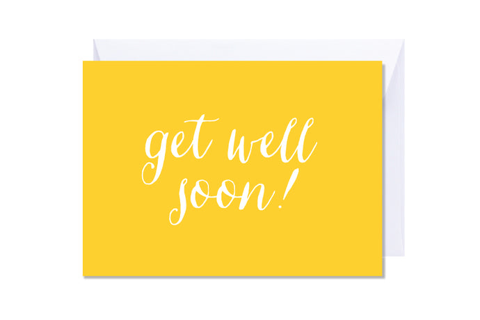 'Get Well Soon' Kate Hill Greeting Card