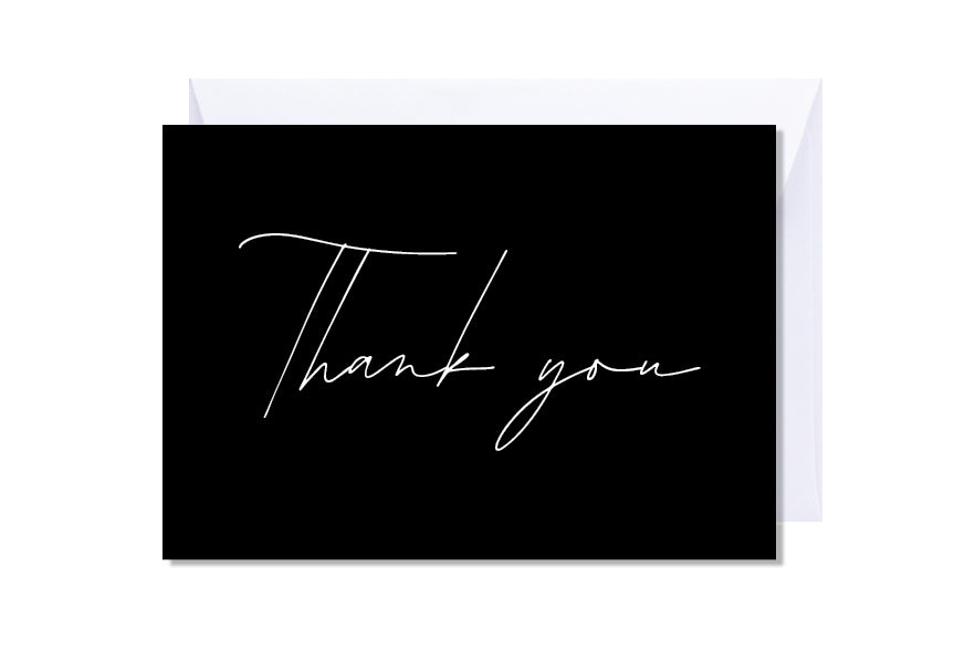 'Thank You' Kate Hill Greeting Card