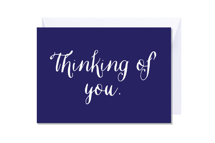 'Thinking of You' Kate Hill Greeting Card | Kate Hill Flowers