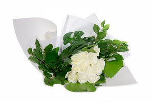 Bouquet of Flowers featuring white roses