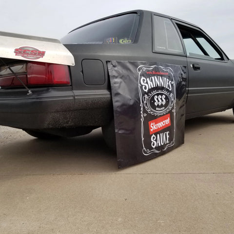 Skinnies Sauce Magnetic Tire Cover