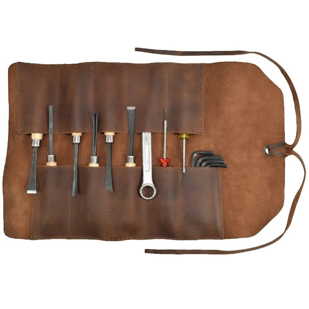 Vintage Leather Tool Roll