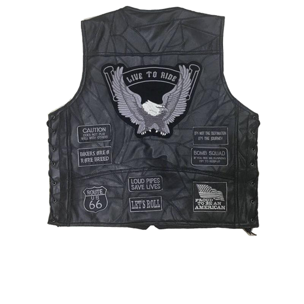 Biker Vest & Patches