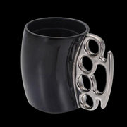 Brass Knuckle-Styled Mug