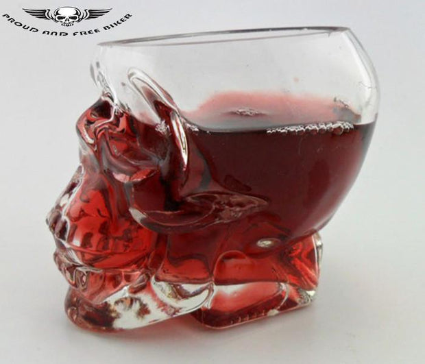 Crystal Skull Glass