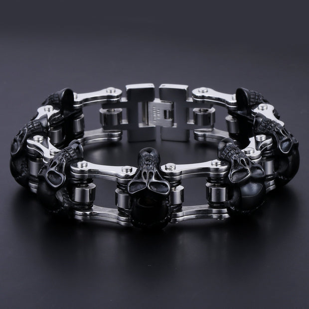 Biker Proud™ Skull Motorcycle Chain
