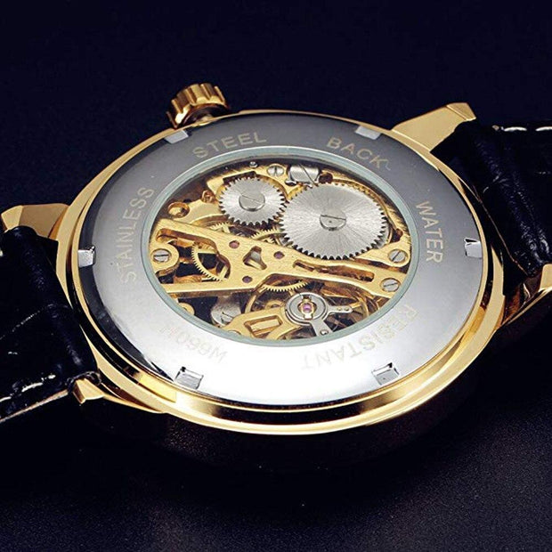 Self-Winding Transparent Watch