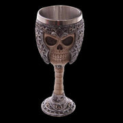 Knight's Skull Glass