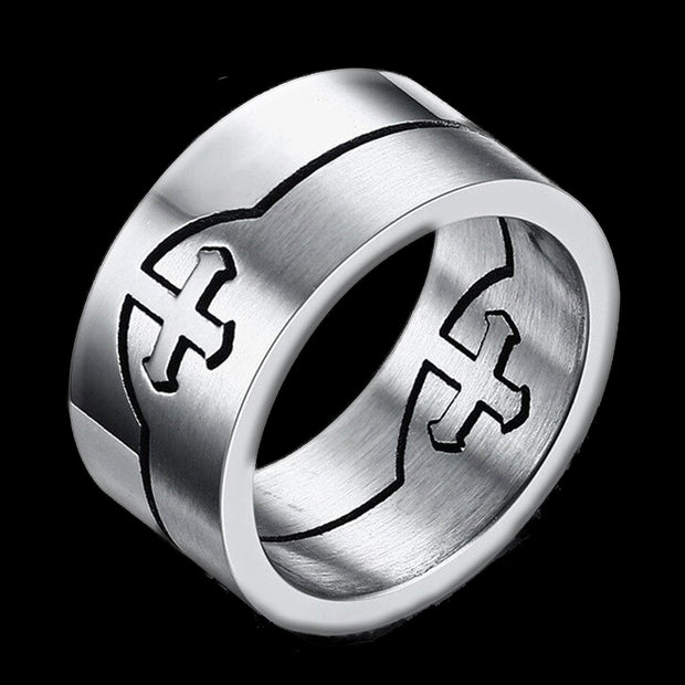 Lovers Cross Rings
