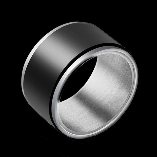 Engravable Men's Spinning Ring