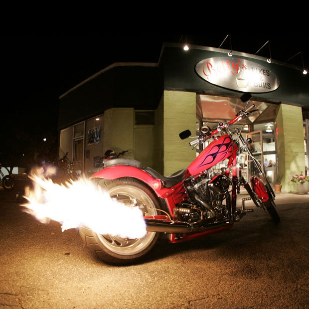 Pyroignition Exhaust for Motorcycles & Cars