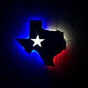 Illuminated Texas Sign